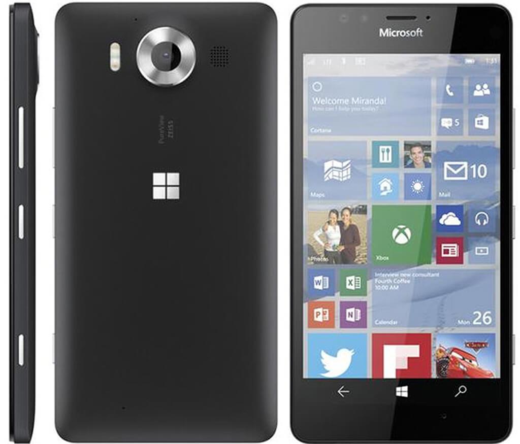 A Lumia 950 mellé 1 évig ingyenes Office 365 előfizetés járt.