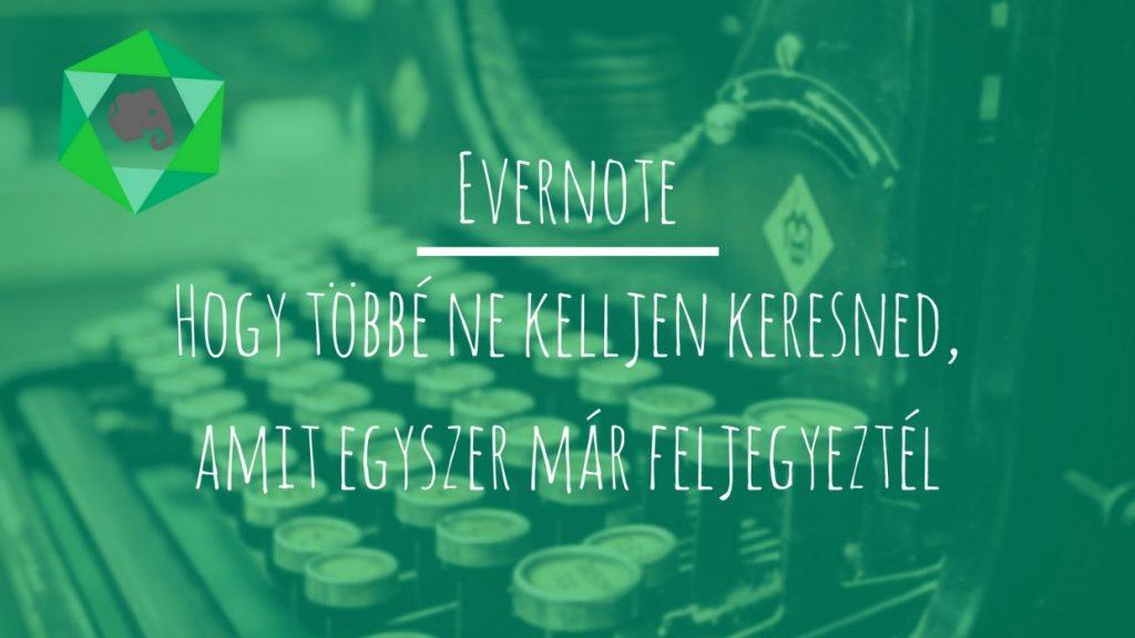Az Evernote tökéletes jegyzetelő, adatbázis kezelő, kis- és középvállalatoknak tökéletes CMS is egyben.