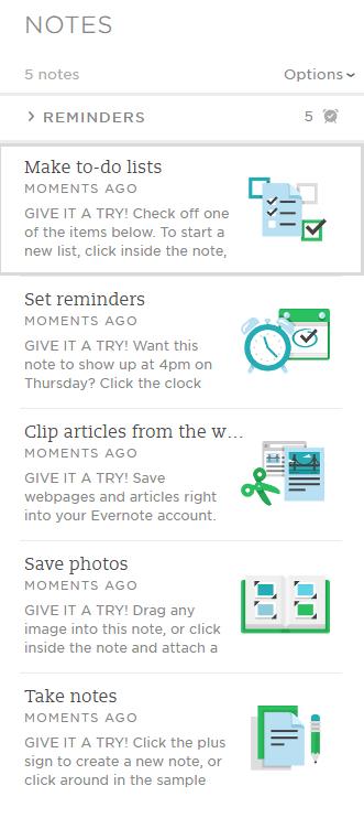 Az Evernote nem csak egy jegyzetelő app.