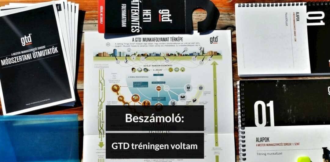 Gondolatok egy GTD tréning margójára