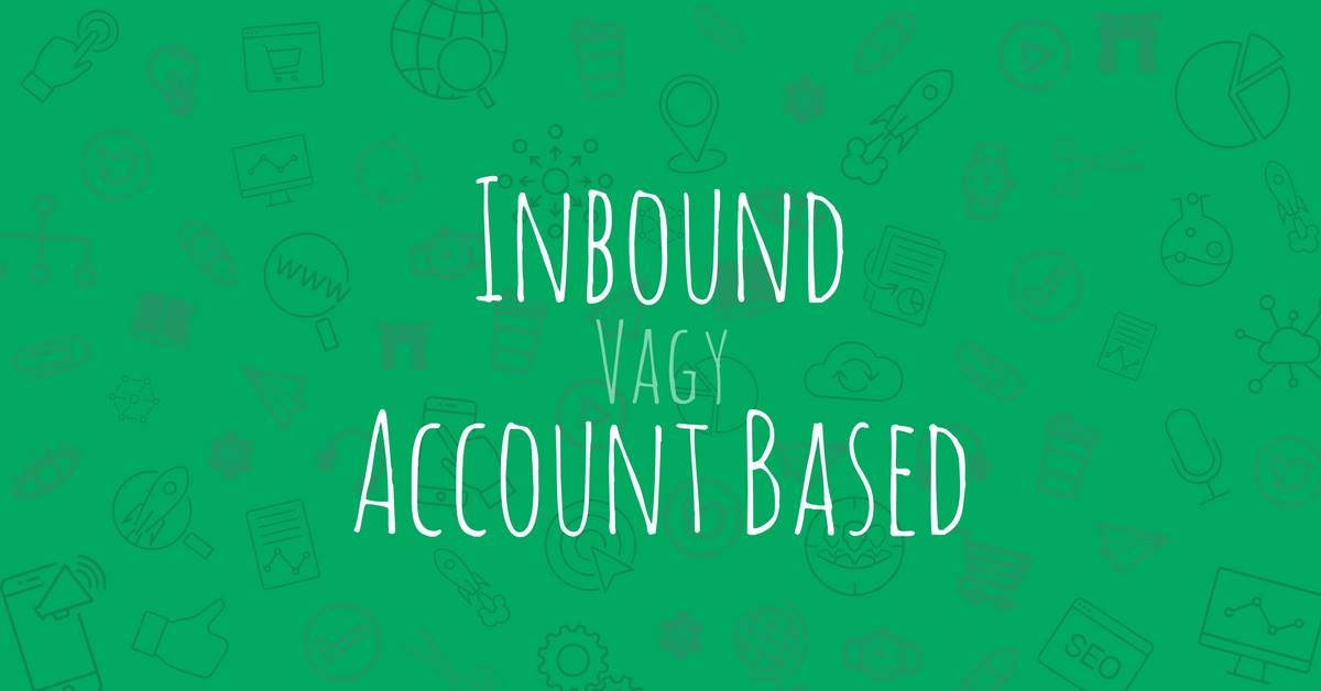 account-based marketing headline inbund marketing