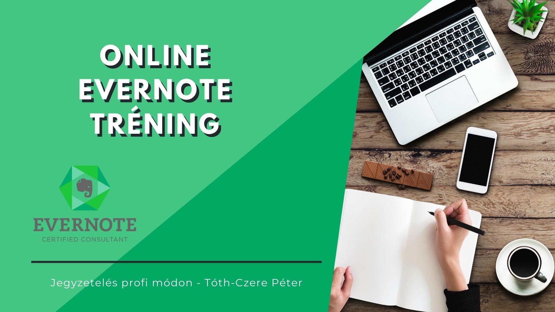 Evernote Online Tréning